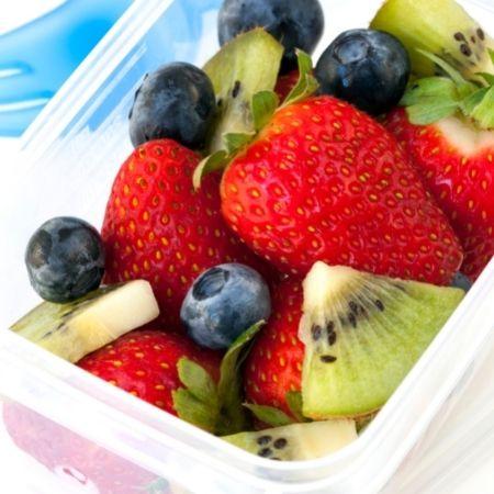 Ernaehrung bei Endometriose - Obst Dose