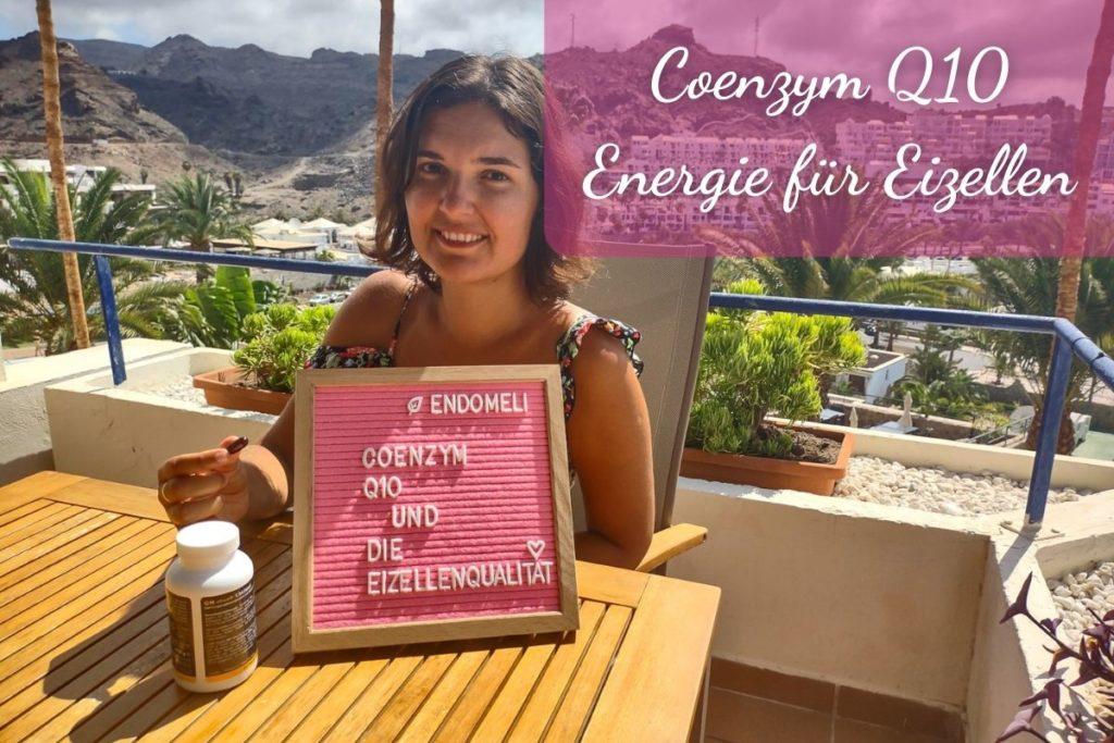 Coenzym Q10 - Energie für Eizellen